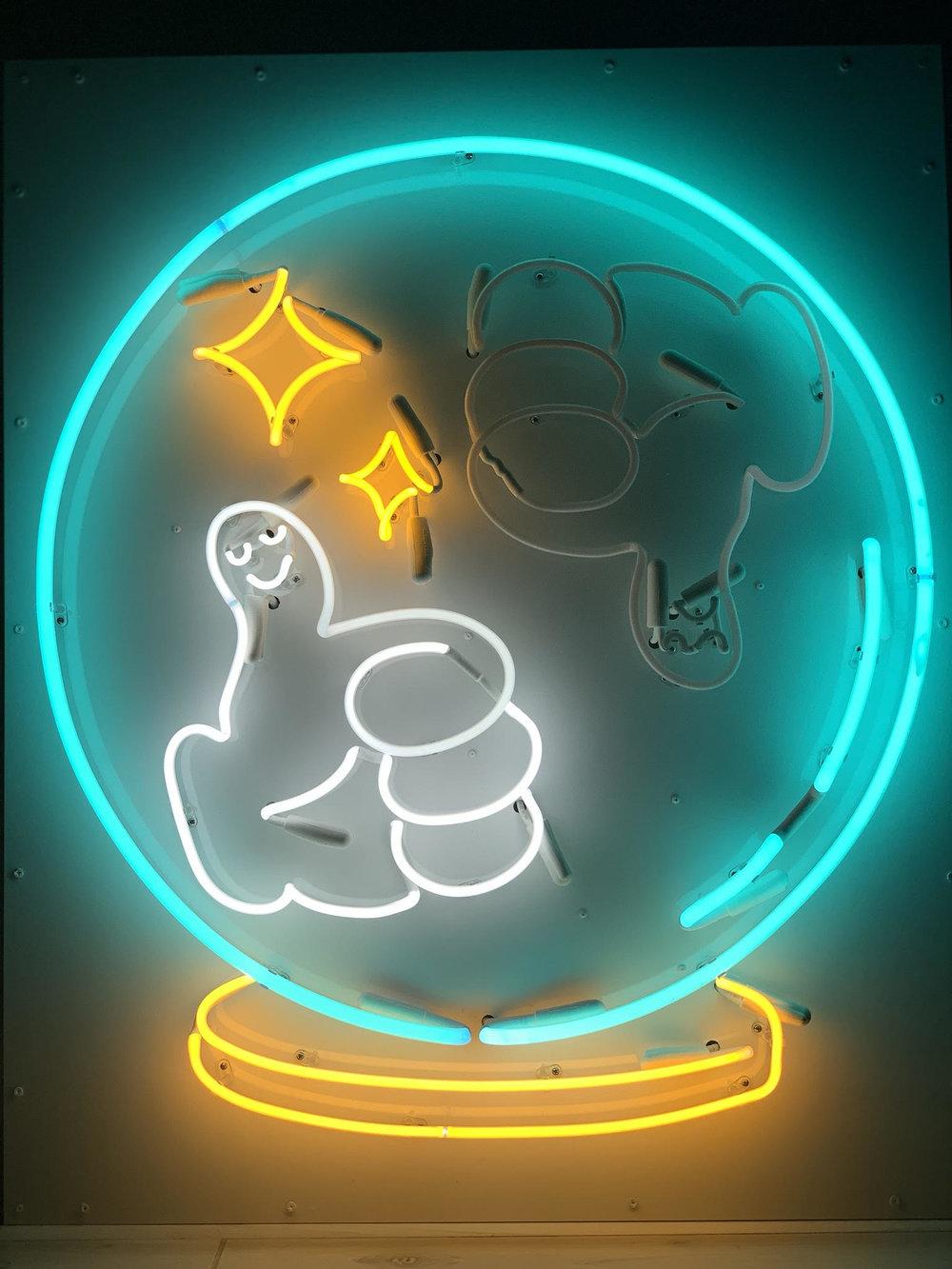 Neon Fortune Teller
