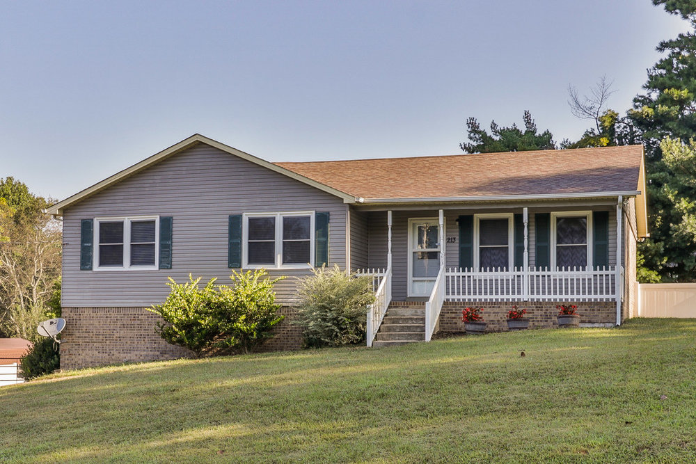 213 Pinehurst Drive, Columbia SOLD - Nicely updated with partially finished basement on large lot.