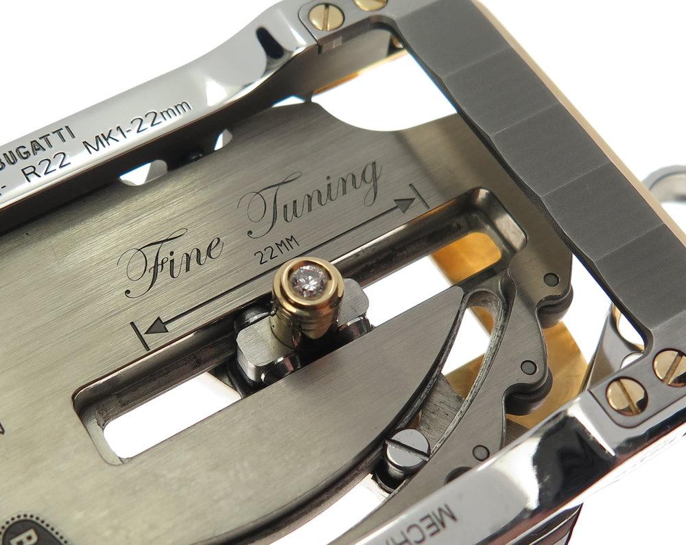 Fine tuning 22mm
