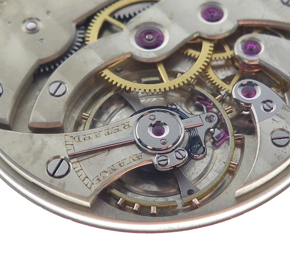 The assembled escapement
