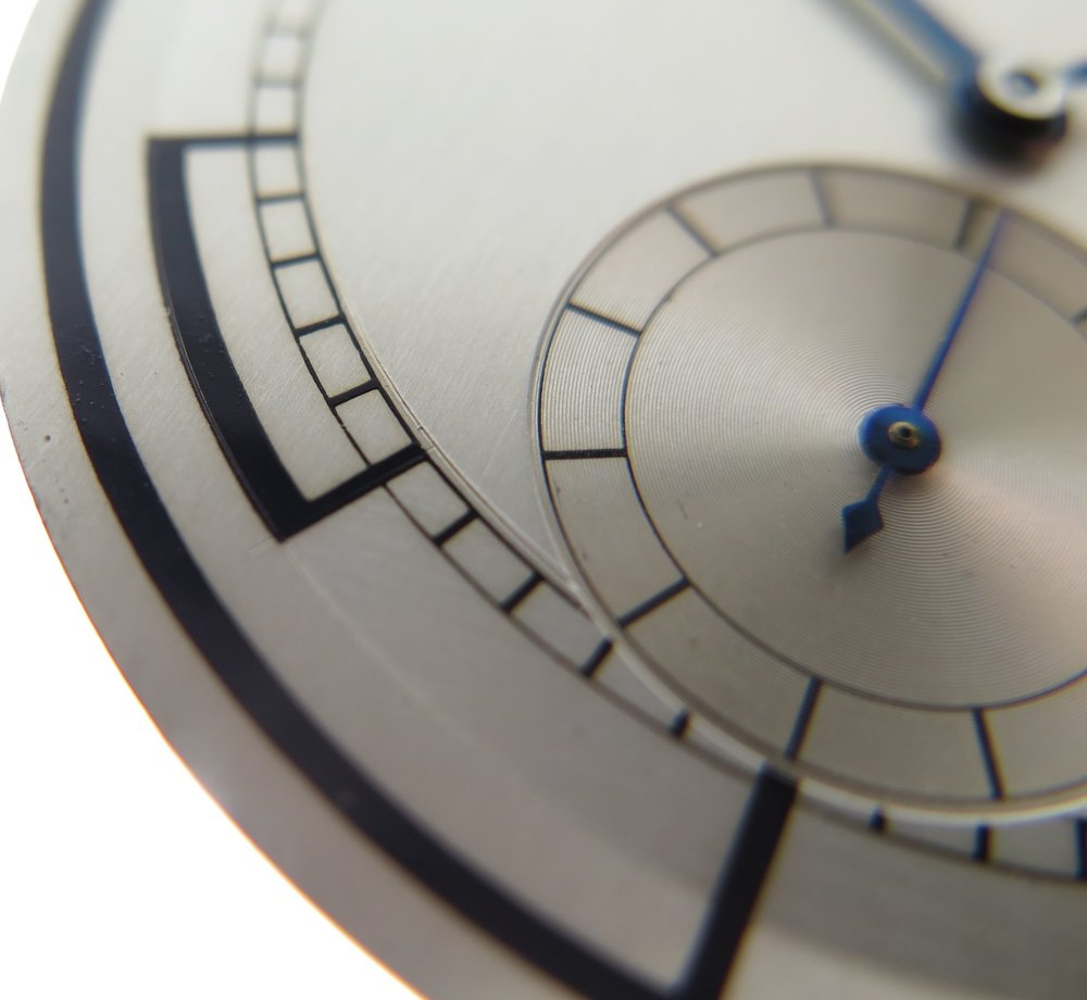 Close up of dial detail