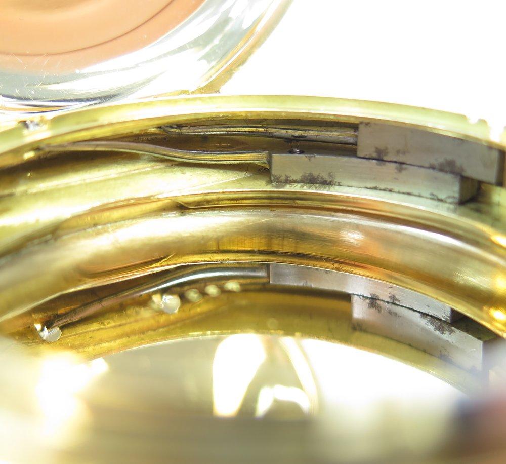 Case cover springs