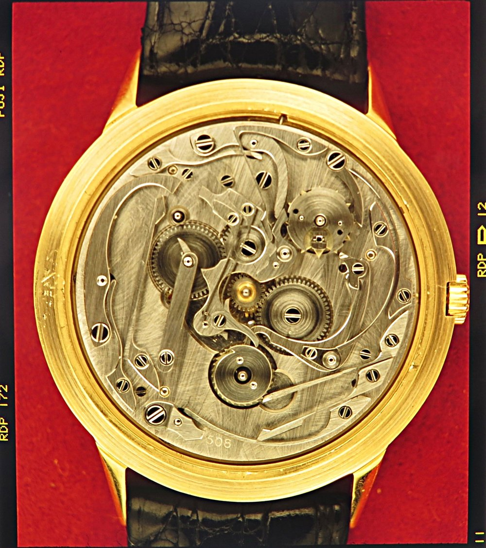 A Patek QP from the 1980's with the same system as the pocket watch from 1890