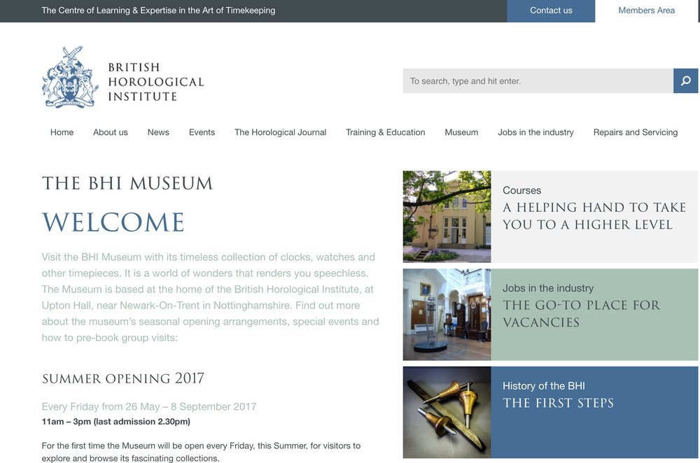 The BHI Museum (Upton)