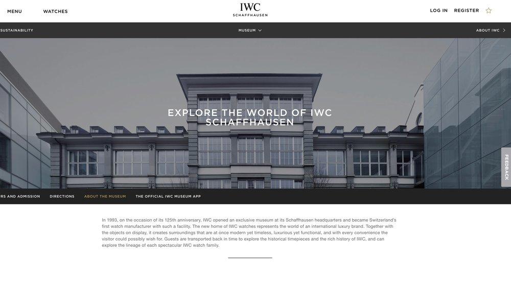 IWC museum (Schaffhausen)
