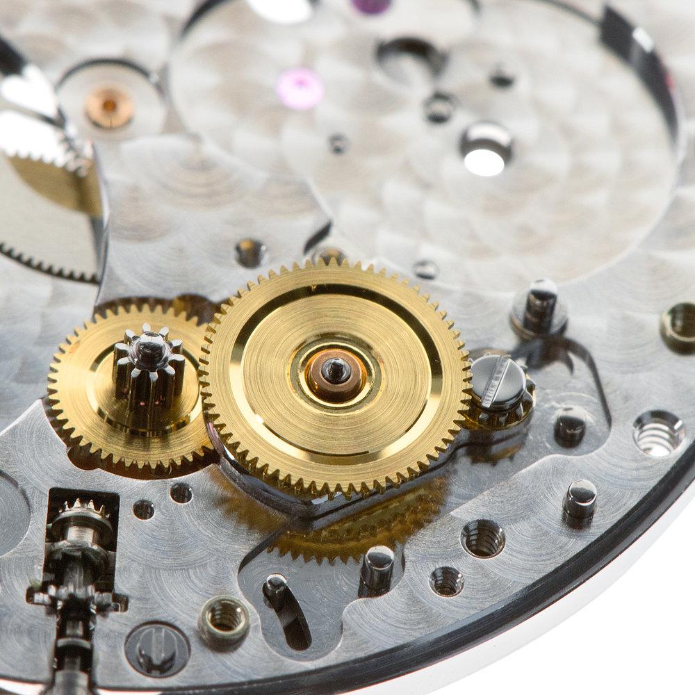 Reverser wheel in place