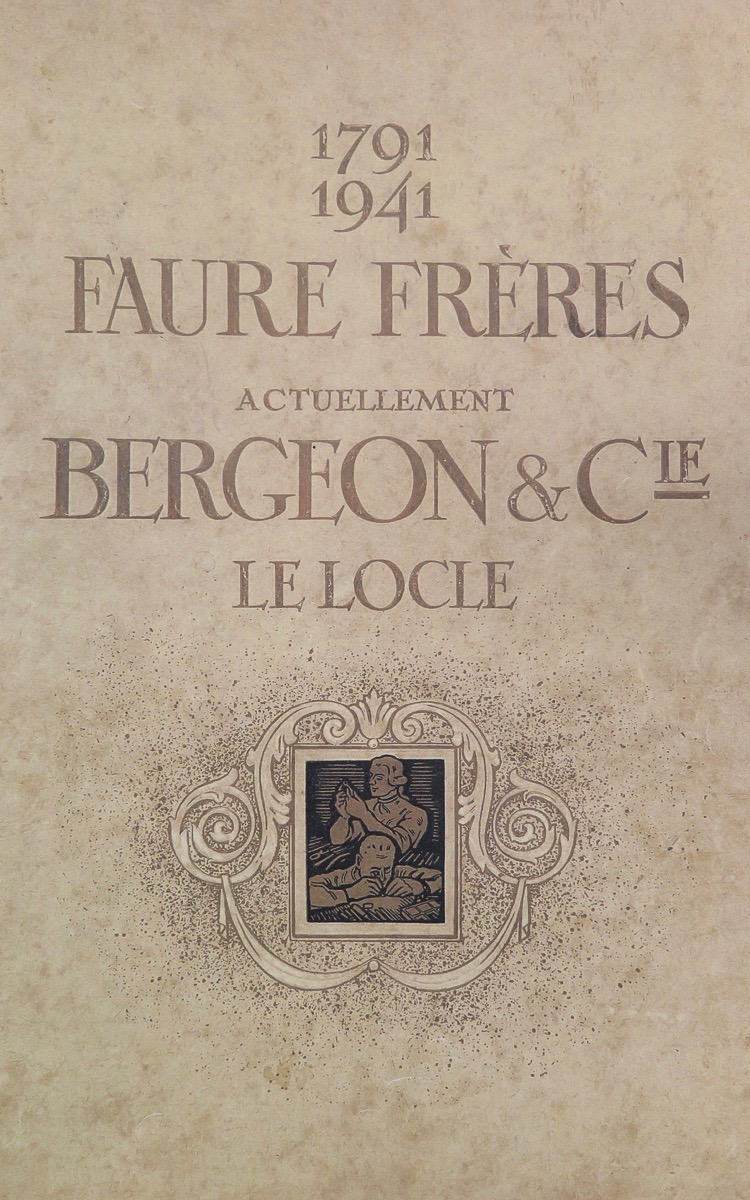 Bergeon early history (français)