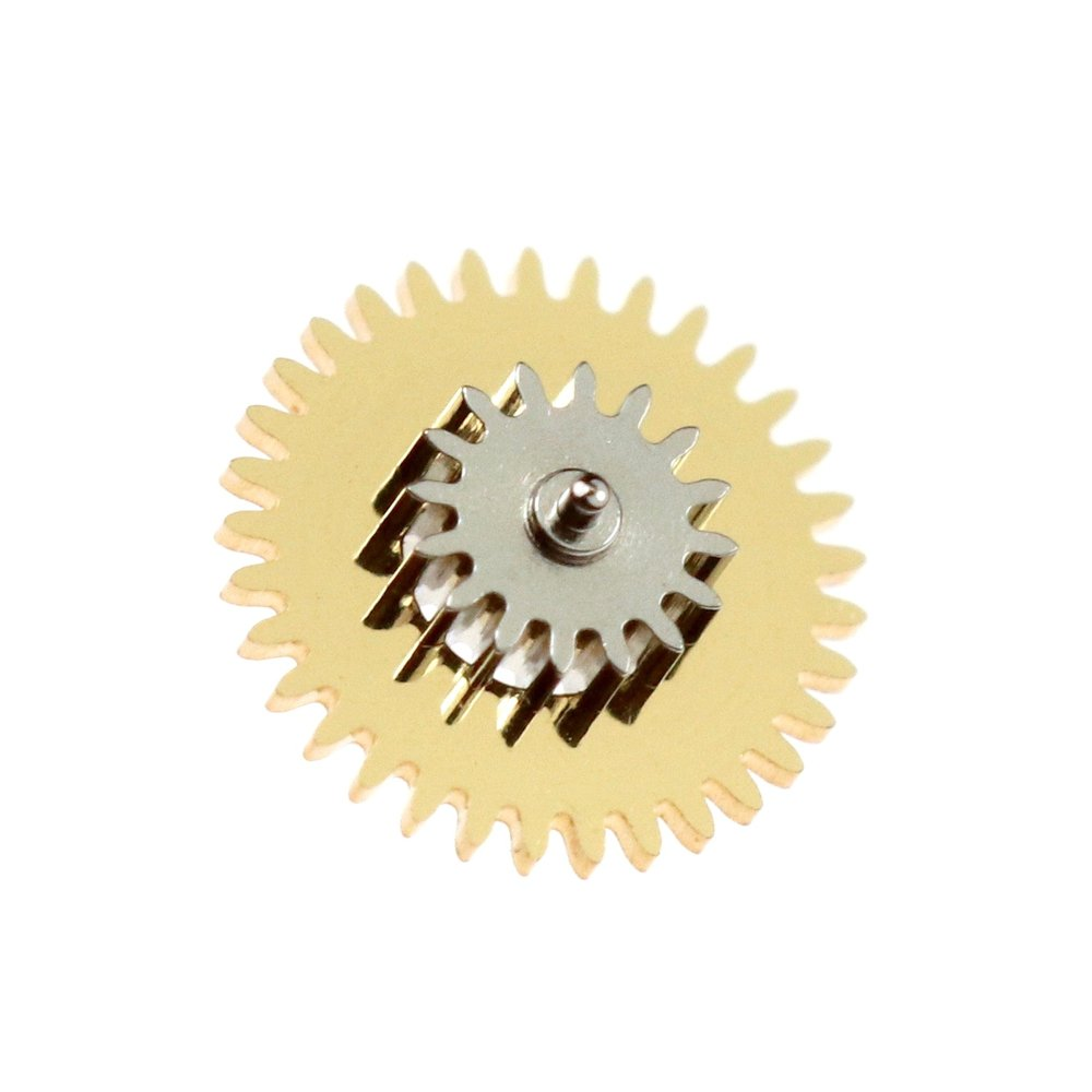 Power reserve pinion