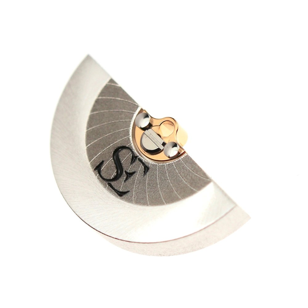 Rotor mass in tungsten carbide