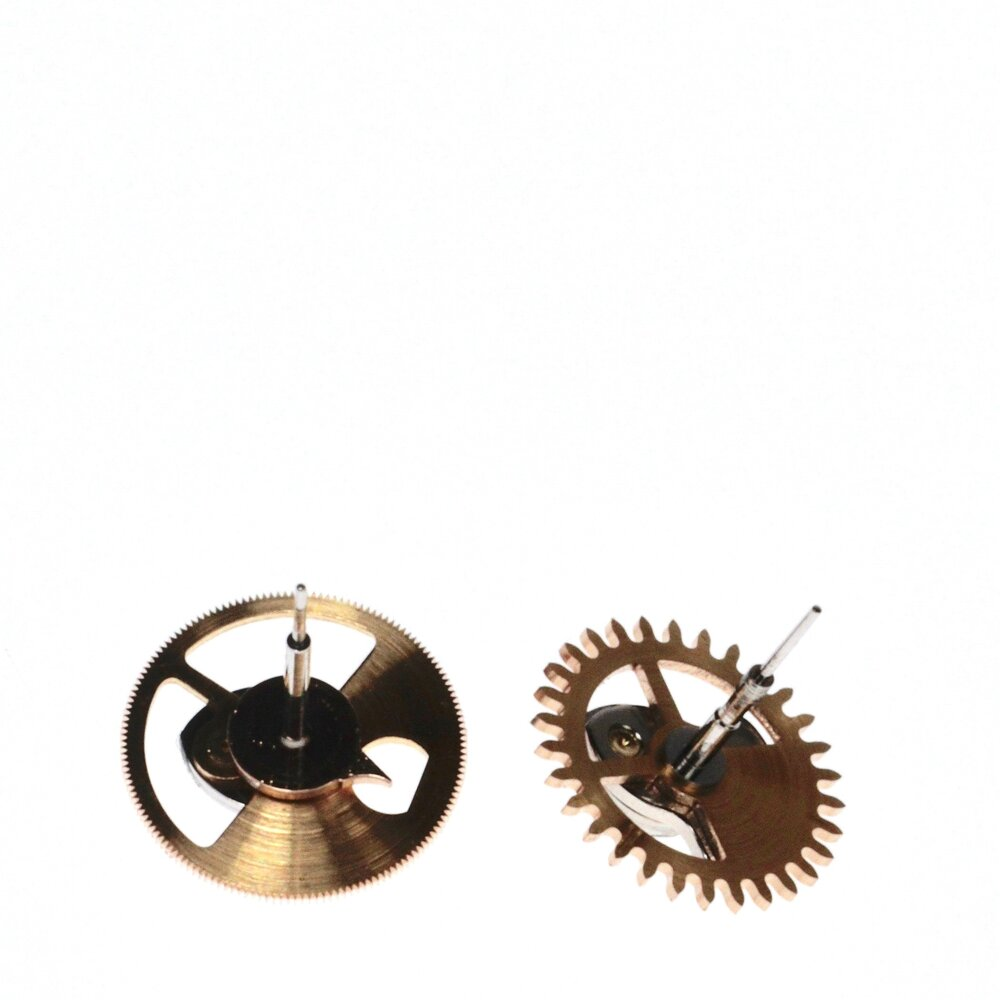 Chronograph and minute recorder wheels