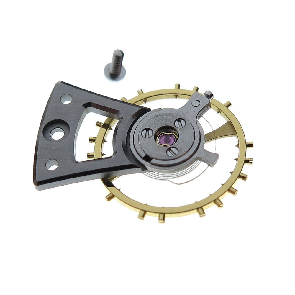 The balance wheel assembly with balance bridge