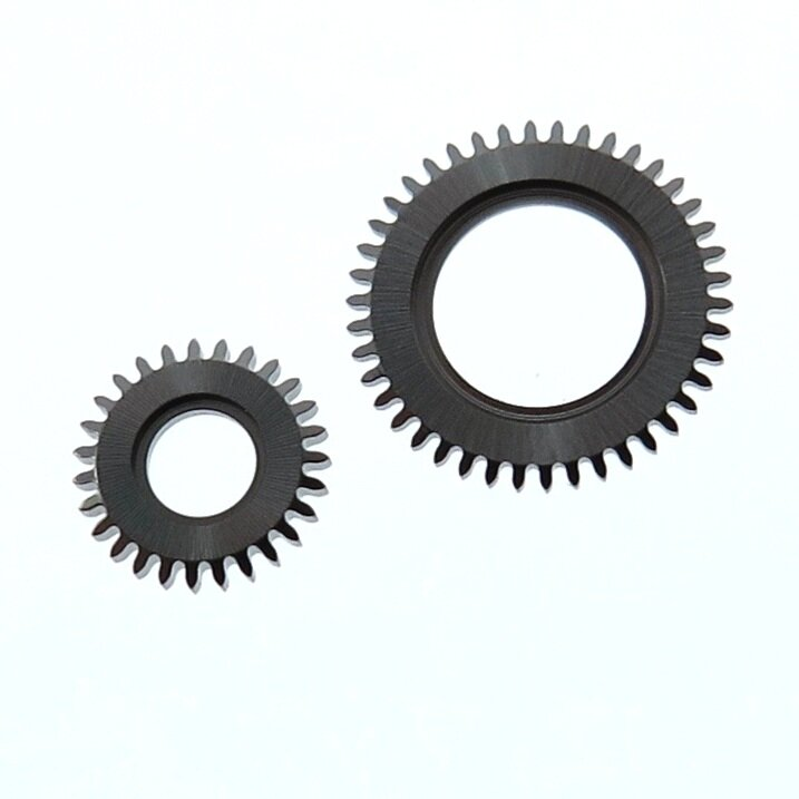 Winding gears. Made in hardened steel.