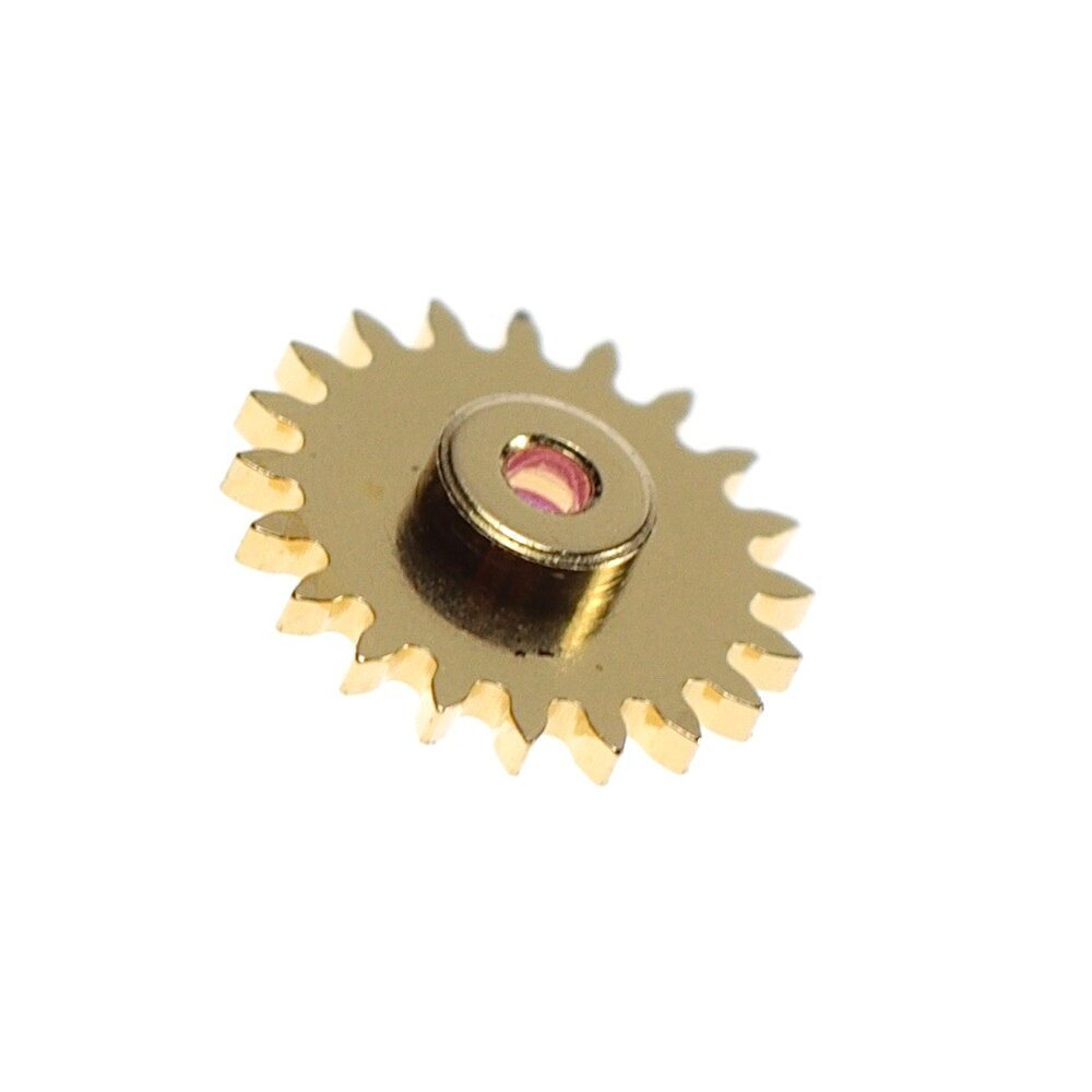 Intermediate minute recorder pinion