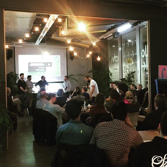 Heute stellen sich die neuen Startups im aktuellen Batch des Smart City Hub vom @hafven vor. Wir sind gespannt, allen Teams viel Erfolg☺️👍!#foodteck #künstlicheintelligenz #blockchain #hafven #digitaleshannover
