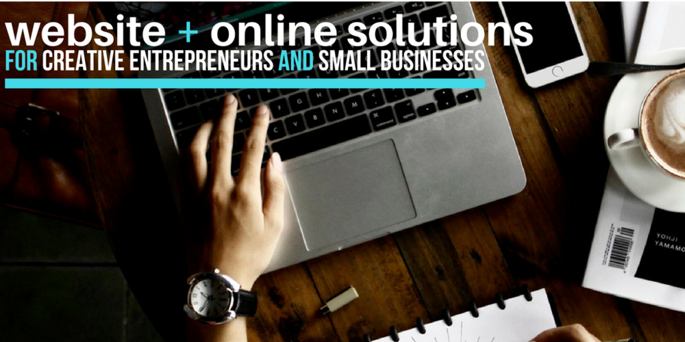 website design, SEO and social media management for busy entrepreneurs and small businesses
