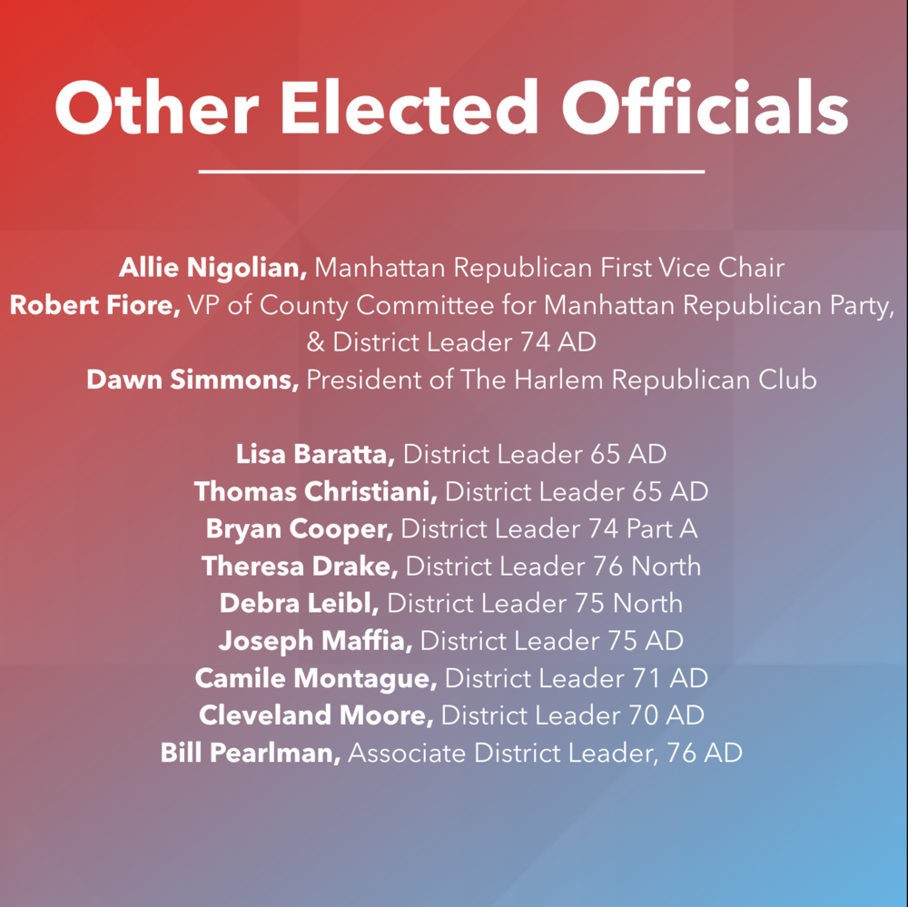Other Elected Officials