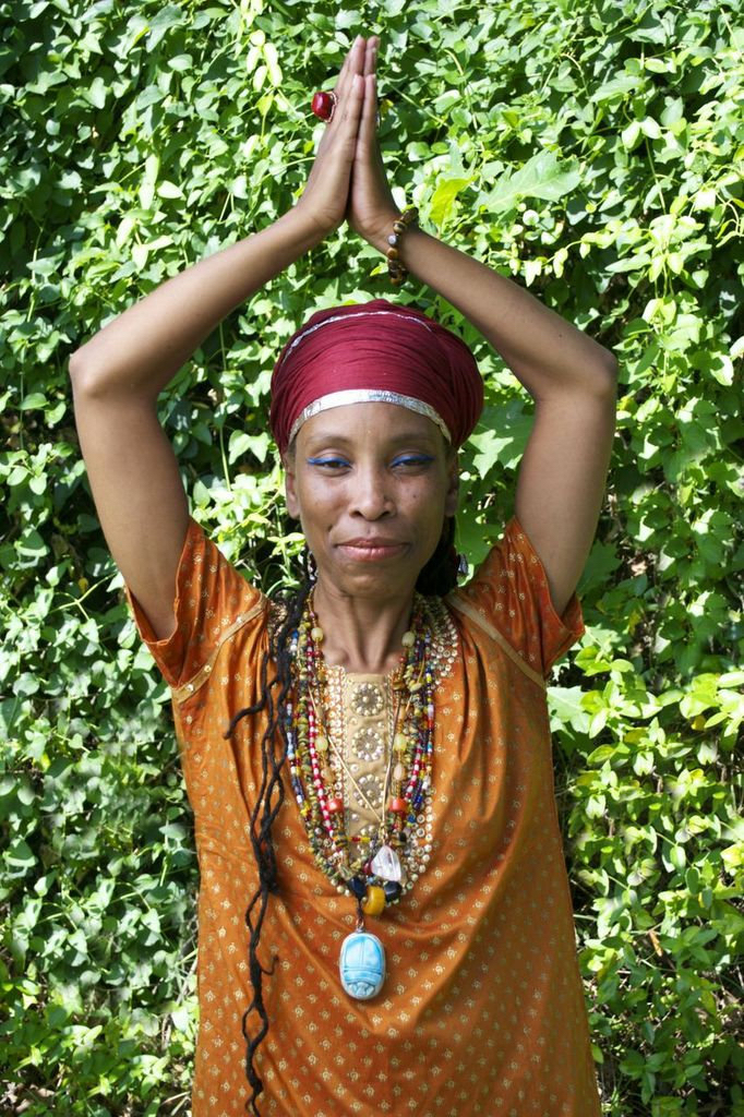 Rekhit Kajara Nia Yaa is the founder of Ra Sekhi Arts Temple