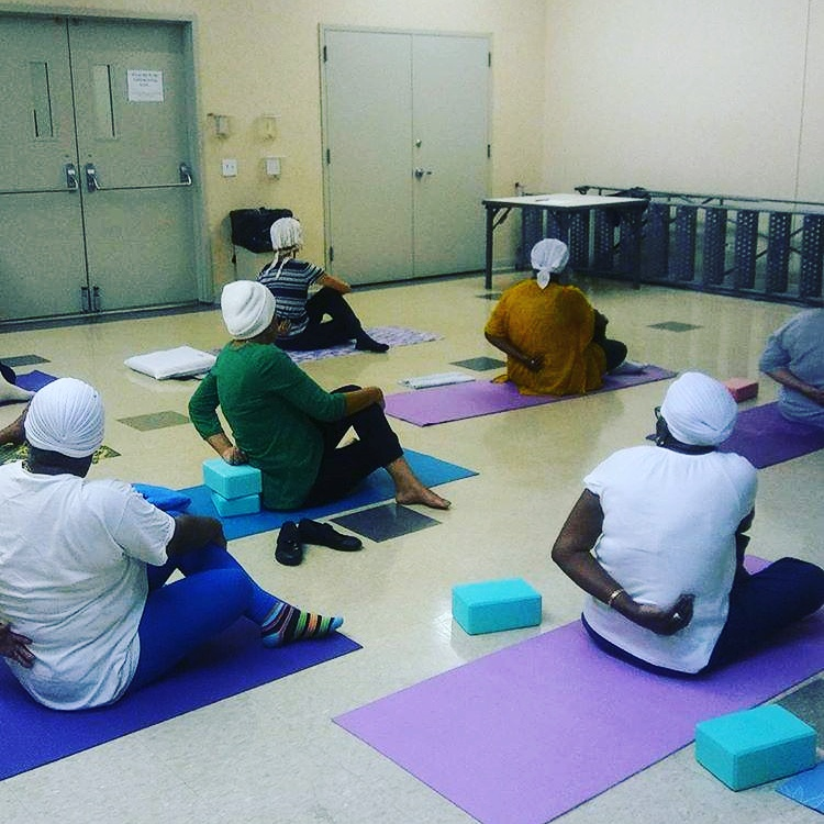 Teaching  Kundalini Yoga and Meditation at the United Federation of Teachers Learning Center