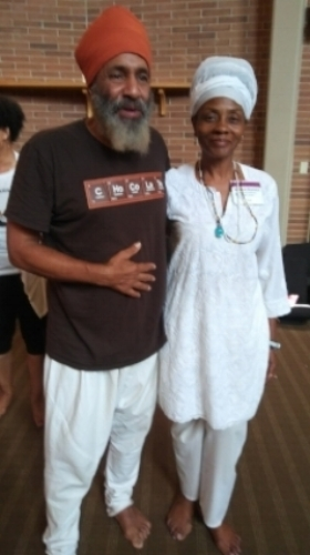 With Dharam Singh of Gong Songs (His gong mastery will transport you to the ethers!)