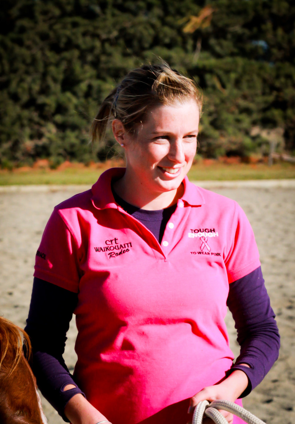 """I pride myself in knowing I am helping students learn how to confidently care for animals, where their food comes from and what is involved in the process."