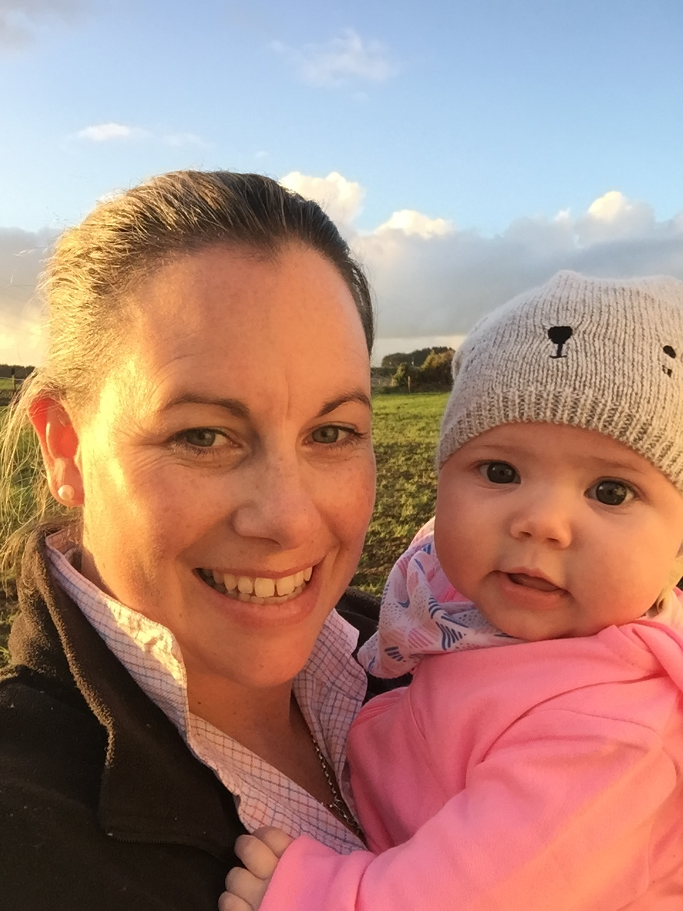 """I just love being able to walk out the back door to go to work and enjoy the challenges that farming brings, and best of all I get to do it with my family."""
