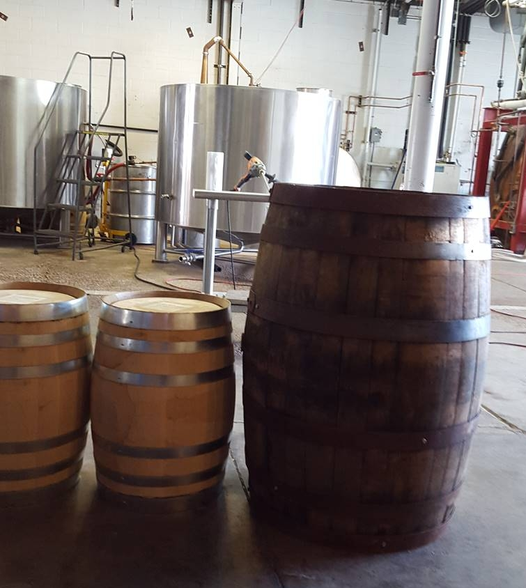 10-gallon barrels and 55-gallon barrel