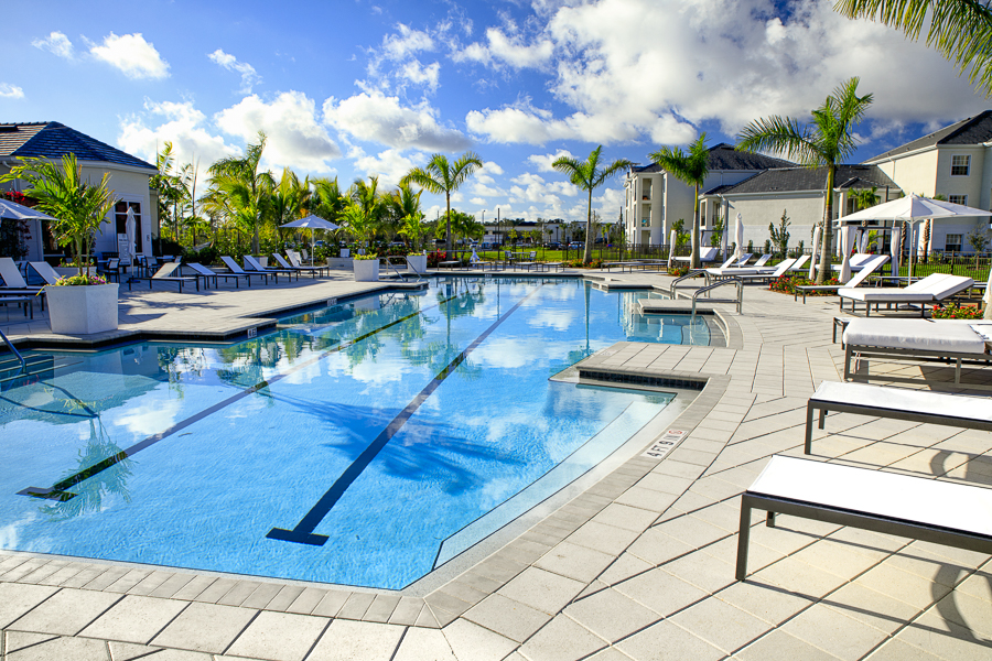 Resort-Style Pool Deck
