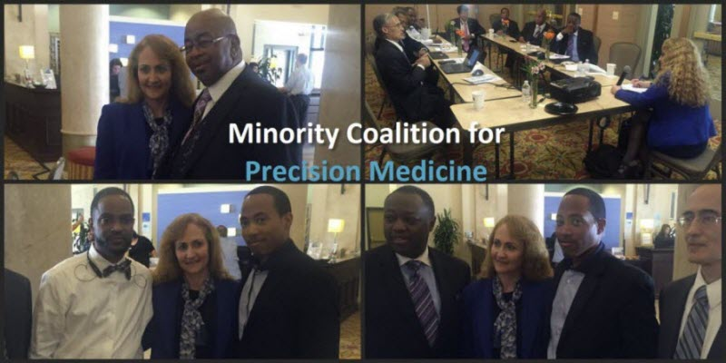 In November 2015 Dr. Jo Handelsman, former Associate Director of the White House Office of Science & Technology Policy, came to Baltimore, MD to brief Faith-Based leaders, such as Rev. Dr. Alfred C.D.Vaughn, about the emerging precision medicine ecosystem. This event was organized by the Health Ministries Network.