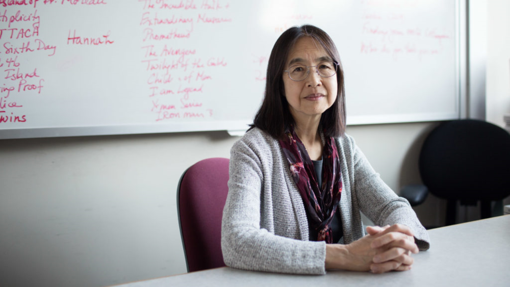 Geneticist Ting Wu, shown in her office at Harvard Medical School, wants to improve the public's understanding of genetics.