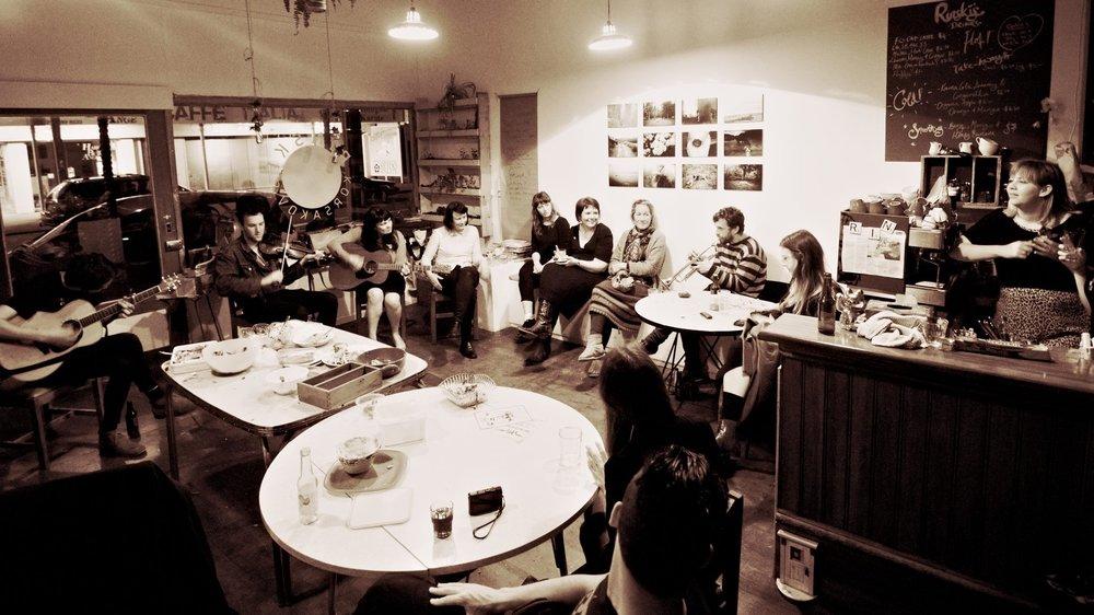 Rinski Korsakov's Cafe, Wellington 2013