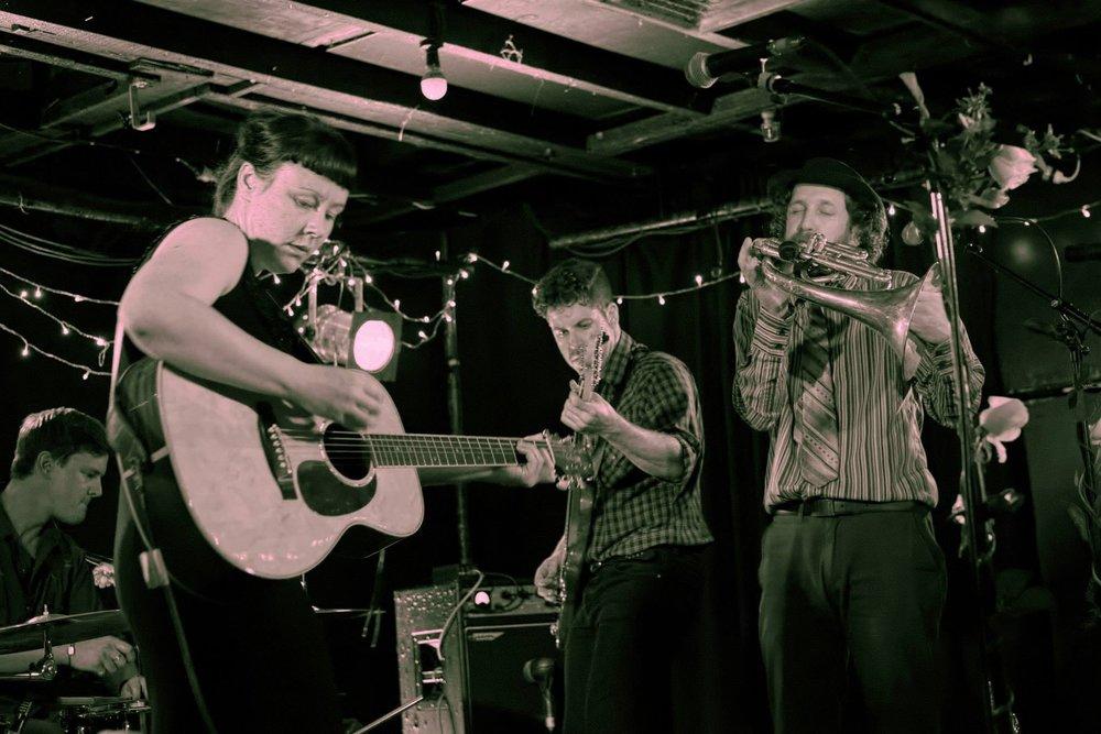 Eb & Sparrow. First album release gig. 2014