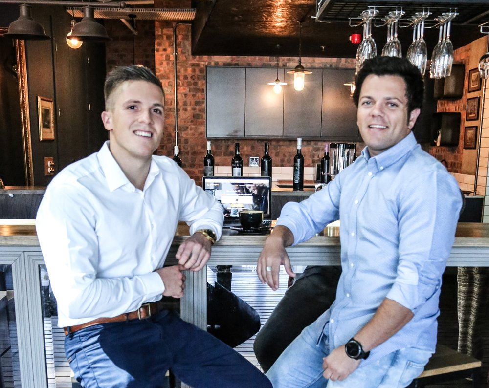 PropertyFox Co-Founders Ashley James and Crispin Inglis