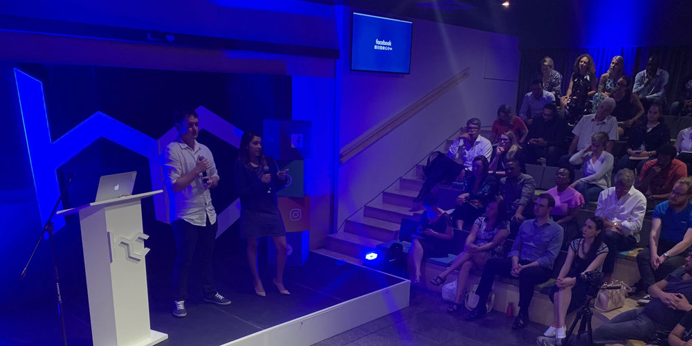 The first 'Facebook For Business' event at Workshop17 in Johannesburg. You can watch videos of the event presentations on Heavy Chef ( click here )