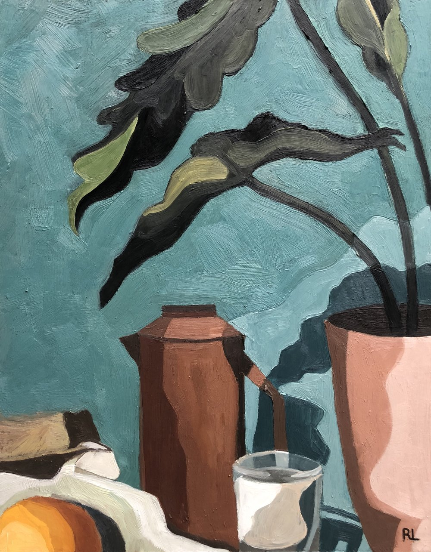 "Still Life    by Yuhan Rita Liu, $350  11"" x 14"""