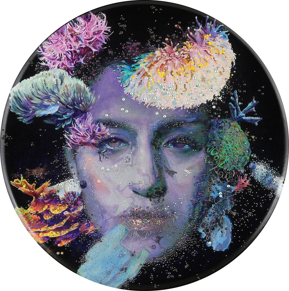 Plasticized    by Sarupa Sidaarth, $10,000  36 inches diameter