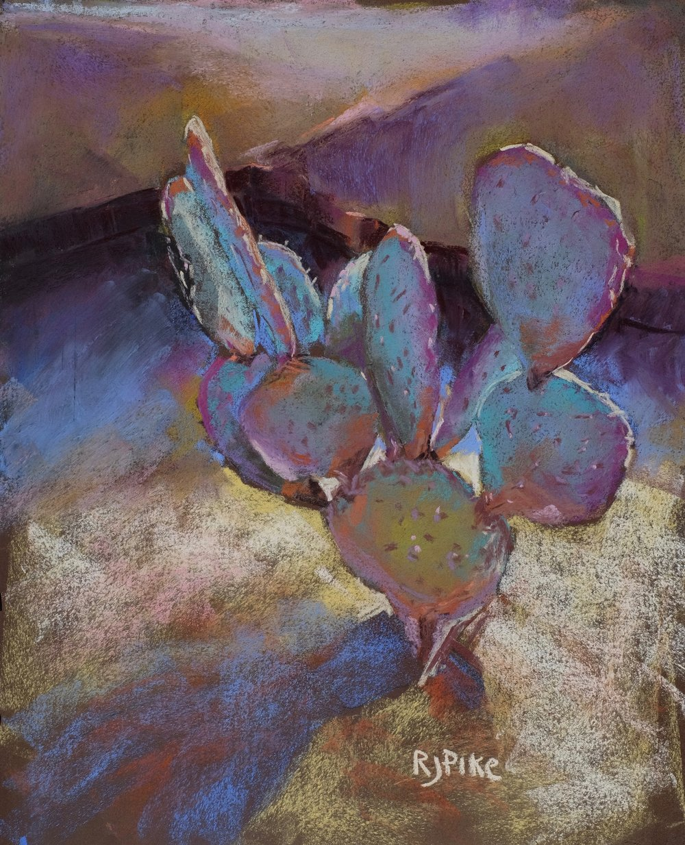 "Strength in Vulnerability: Sabra (Palm Springs)    by Ruth Joseph-Pike, $550  18.25"" x 14.5"""