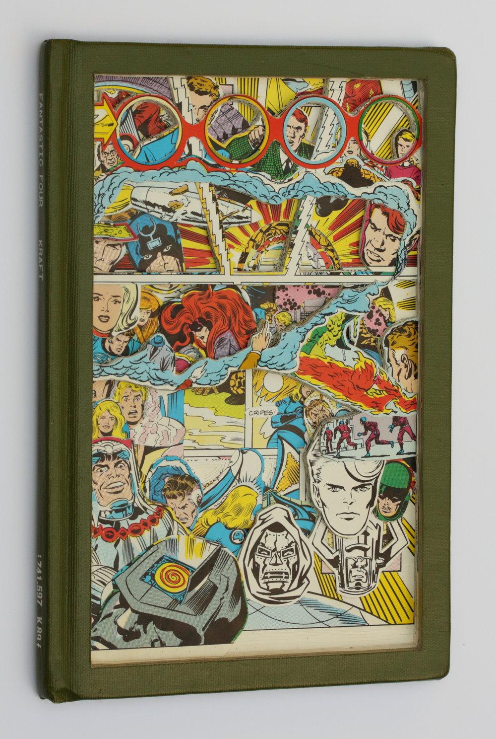 James Allen_Fantastic Four (spine).JPG