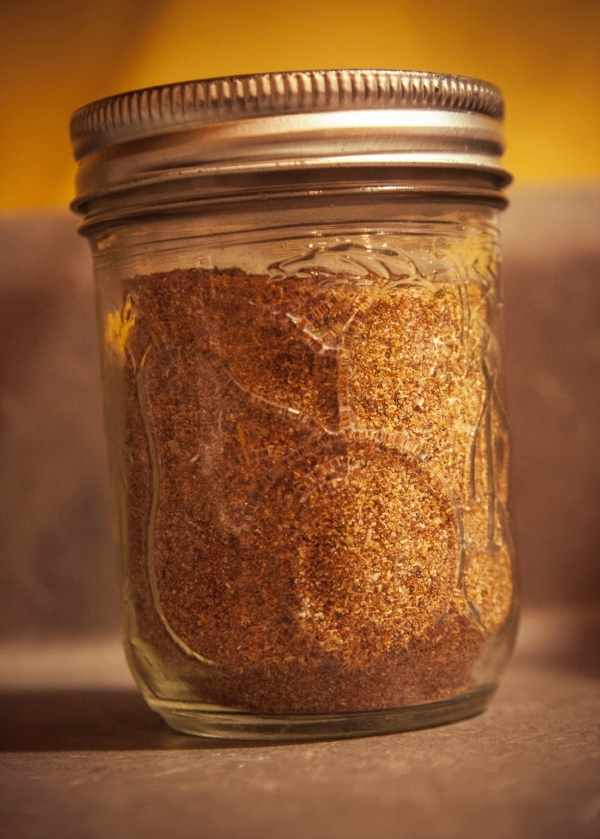 """""""...because having a hand labeled Mason jar of seasoning makes you look a little bit like a kitchen badass."""""""