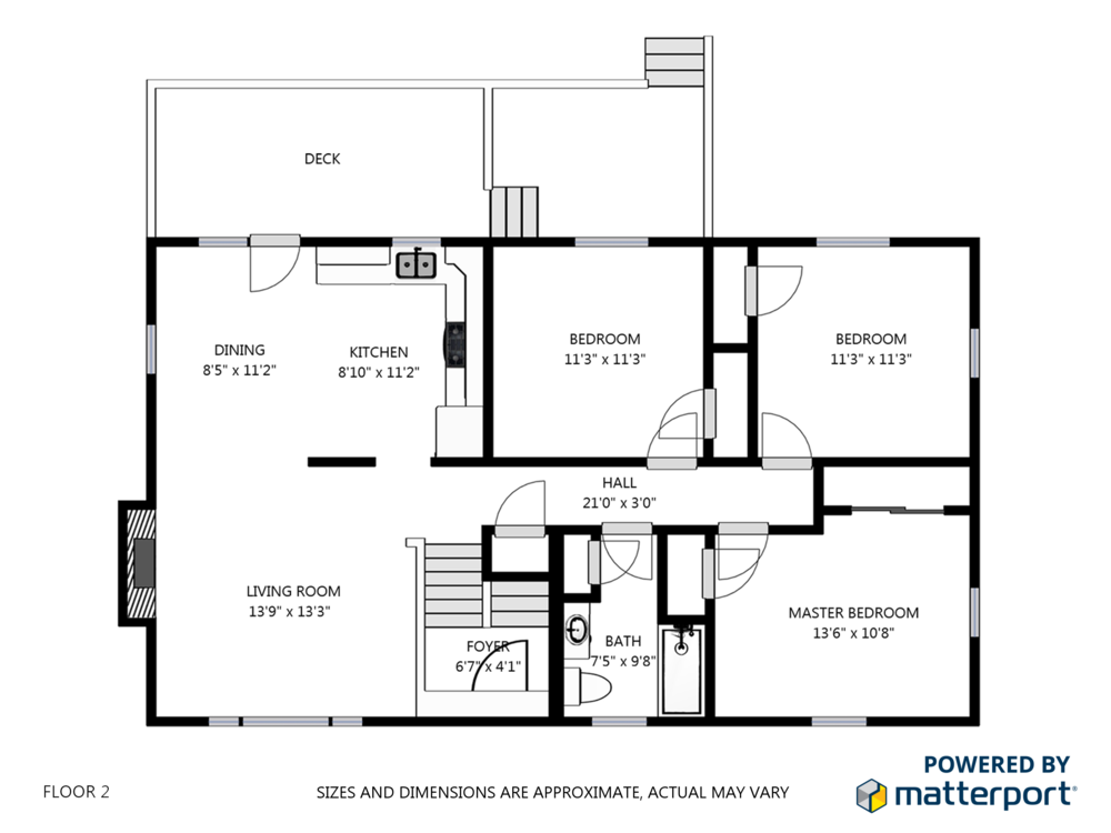 Schematic Floor Plans - Hand out professional schematic floor plans of your property to be as transparent as possible. Provide accurate measurements in this organized format and ever again will you have to answer the question