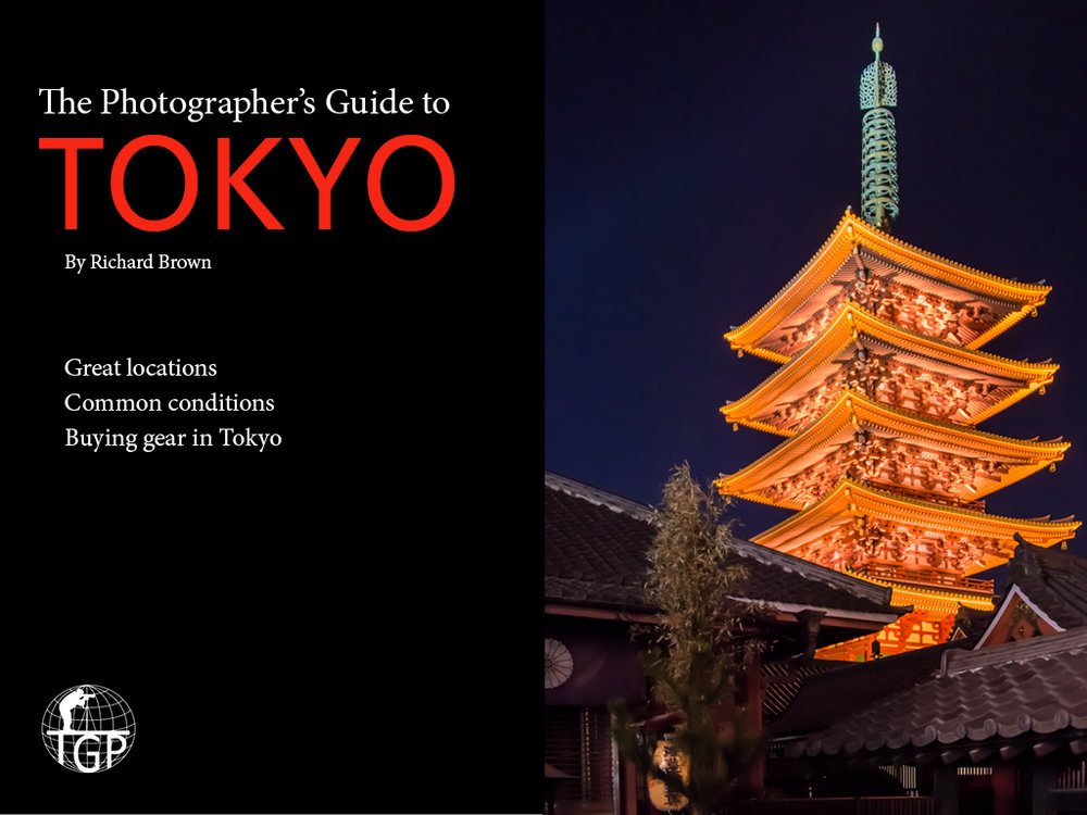 Check out The Photographer's Guide to Tokyo -
