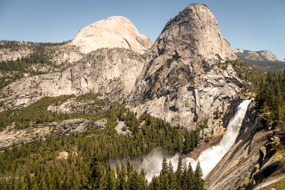 View of Nevada Falls