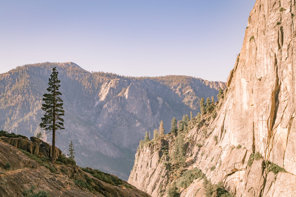 Half Way up to the Top of Yosemite Falls