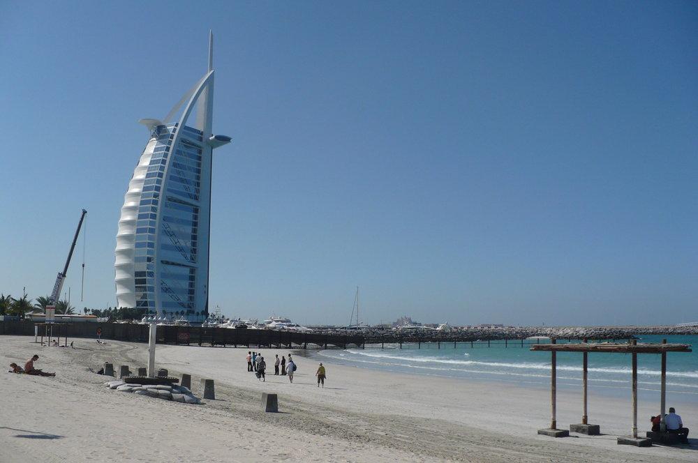 The famos Burj Al Arab