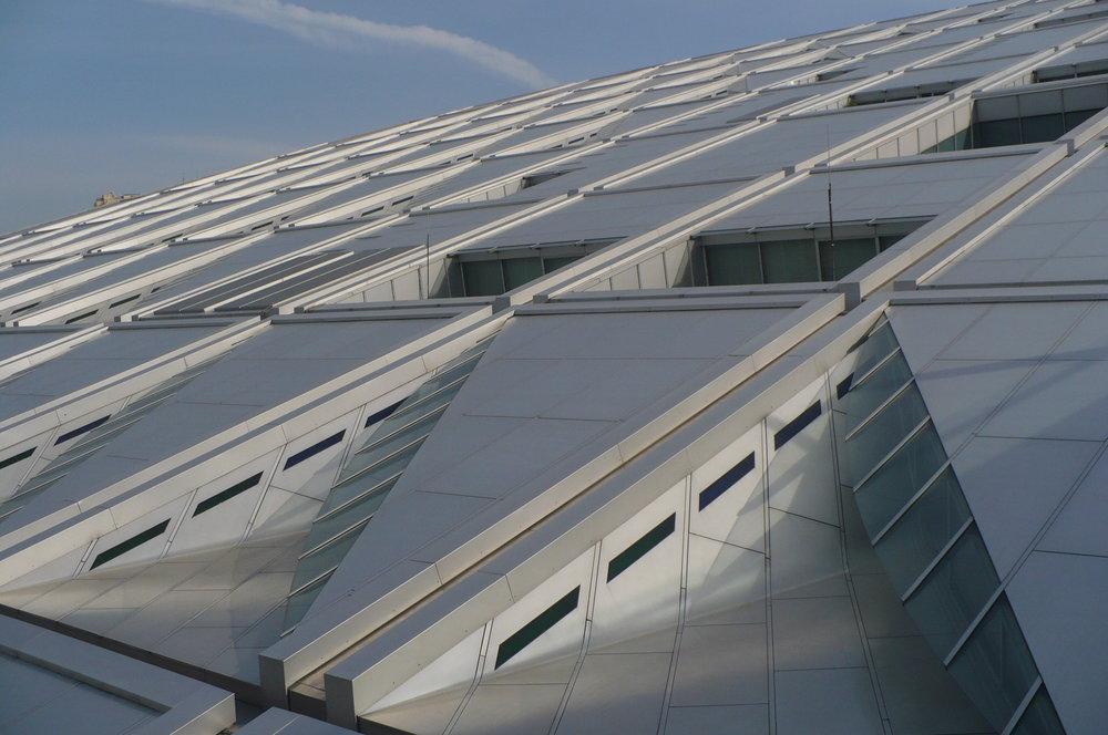 Alexandria library windows