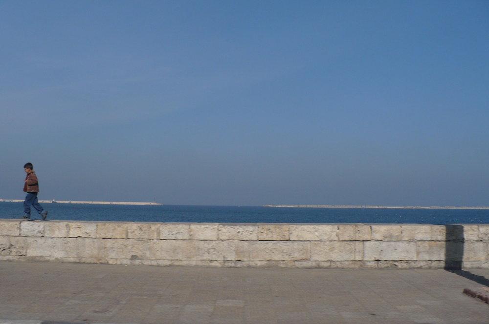 Running in the Mediterranean border