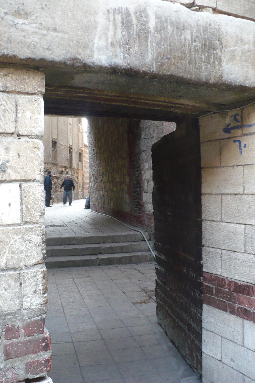 Some alley around Cairo