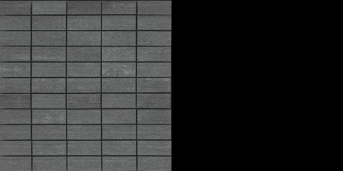 "Cemento black - antracite -mosaic 12"" x 12"""
