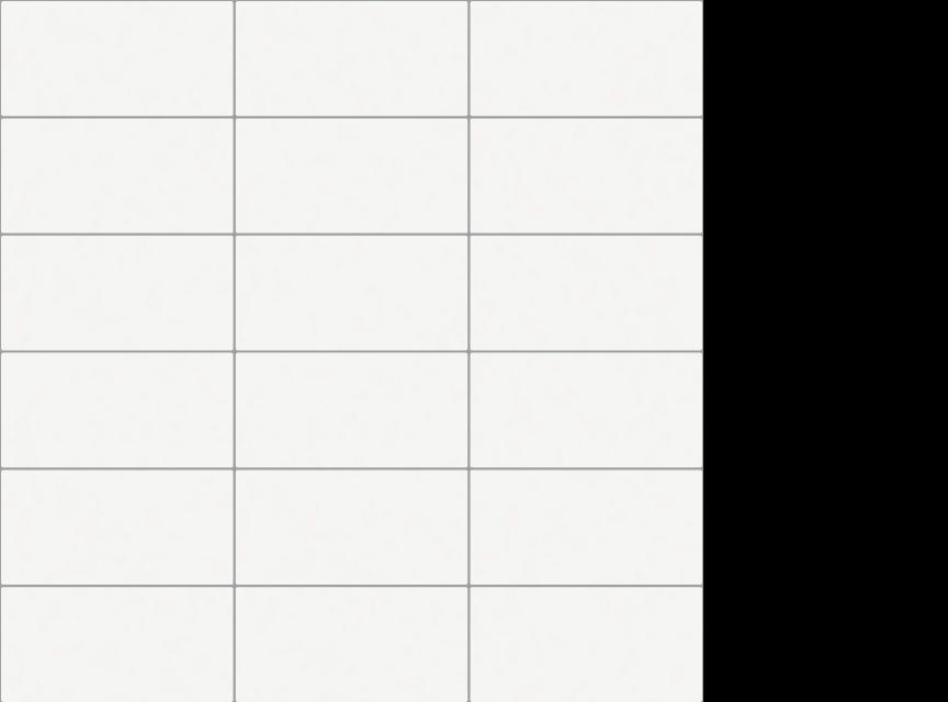 """appiani seta ghiaccio 2"""" x 4"""" on 12"""" x 12"""" sheet - White"""