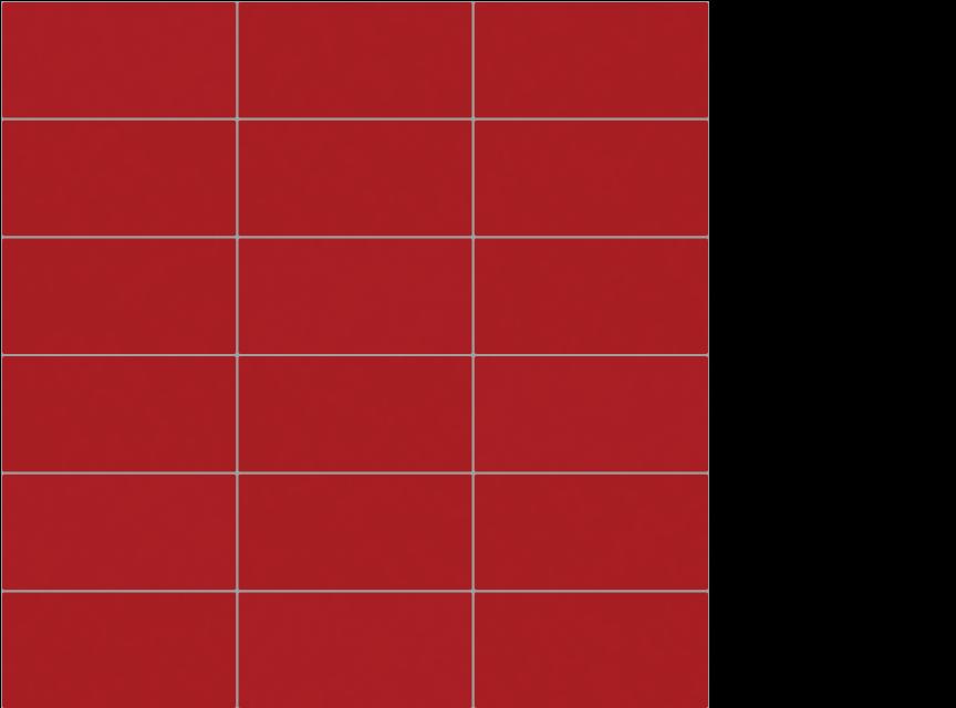 """appiani seta fuoco 2"""" x 4"""" on 12"""" x 12"""" sheet - red"""