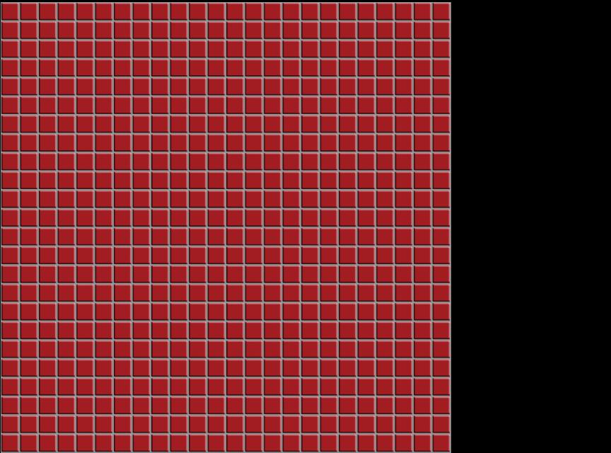 """appiani seta fuoco 1/2"""" x 1/2"""" on 12"""" x 12"""" sheet - red"""